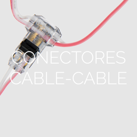 Conectores IDC Cable - Cable